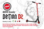 Scooter Freestyle Bestial Wolf Demon D2 - Nivel iniciación