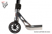 Scooter Freestyle Bestial Wolf Killer K6 Silver ® - Nivel avanzado ✓