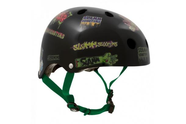 Casco para patinetes scooter de la marca Slamm