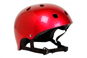 Casco SFR Rojo Met