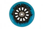 Rueda Slamm 100 mm de núcleo de nylon para patinete scooter