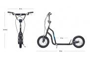 Patinete de ruedas inflables Yedoo Ox, a partir de 10 años