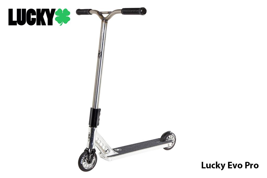 Scooter Freestyle Lucky Evo Pro Raw ® - Nivel avanzado, tamaño XL