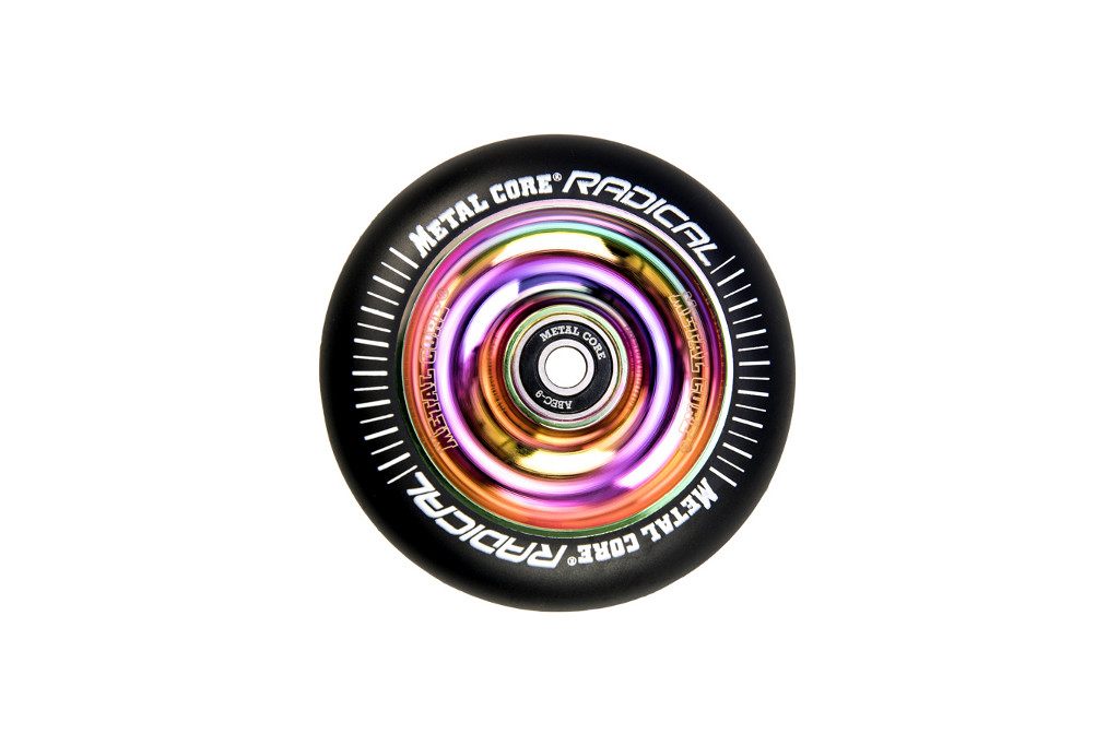 Rueda de scooter freestyle Metal Core Raimbow 100 mm.